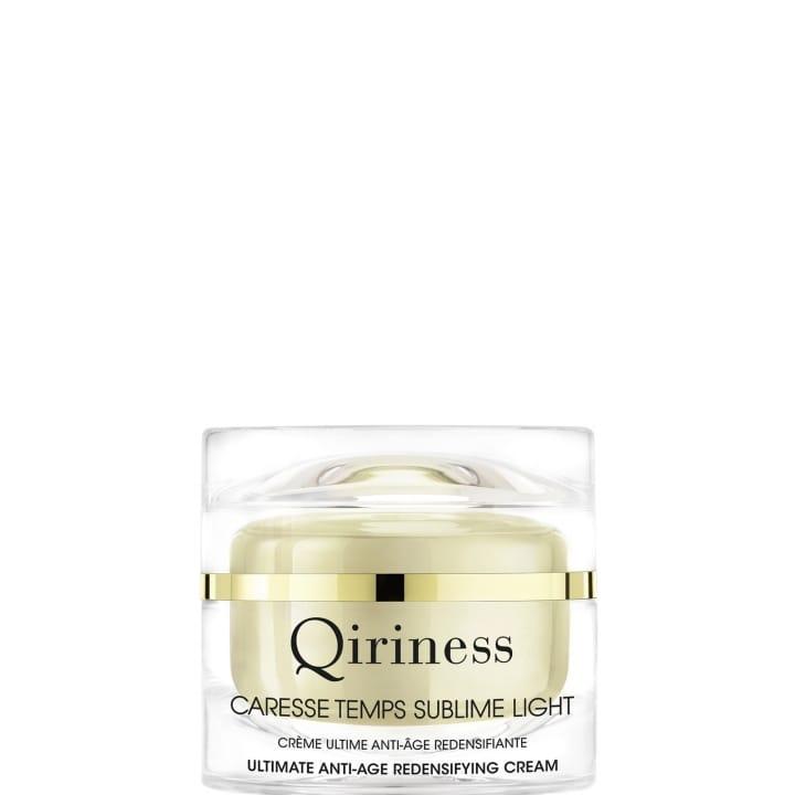Les Essentiels Caresse Temps Sublime Light - Crème Ultime Anti-Âge Redensifiante Texture Light - Qiriness - Incenza