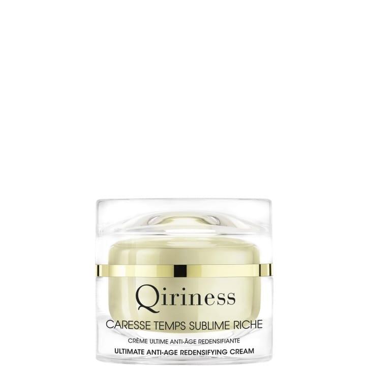 Les Essentiels Temps Sublime - Crème Ultime Anti-Âge Redensifiante Texture Riche - Qiriness - Incenza