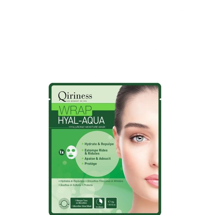 Wraps Booster Wrap Hyal-Aqua - Masque Microfibre Hydratant - Qiriness - Incenza