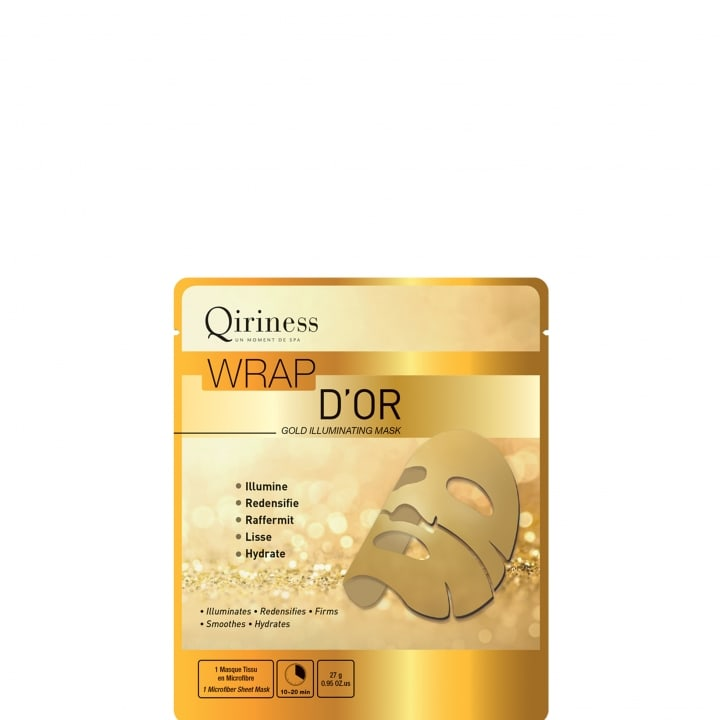 Wraps Booster Wrap d'Or - Masque Microfibre Premium - Qiriness - Incenza