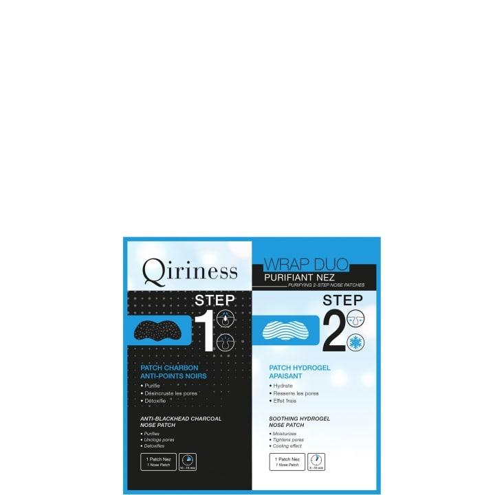 Wraps Booster Wrap Duo Purifiant Nez - Patchs Purifiants pour le Nez   - Qiriness - Incenza