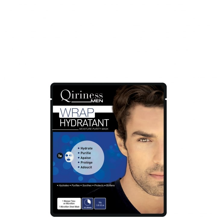 Qiriness Men Wrap Hydratant - Masque Hydratant Purifiant - Qiriness - Incenza