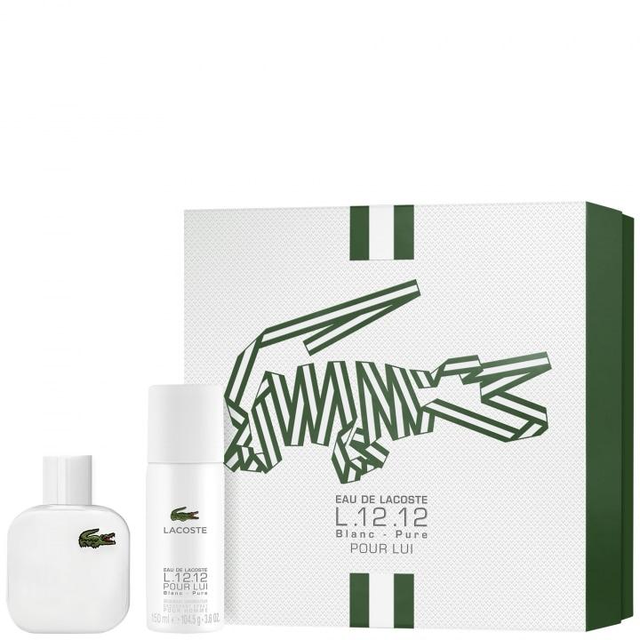 L.12.12 Blanc Coffret Eau de Toilette - Lacoste - Incenza