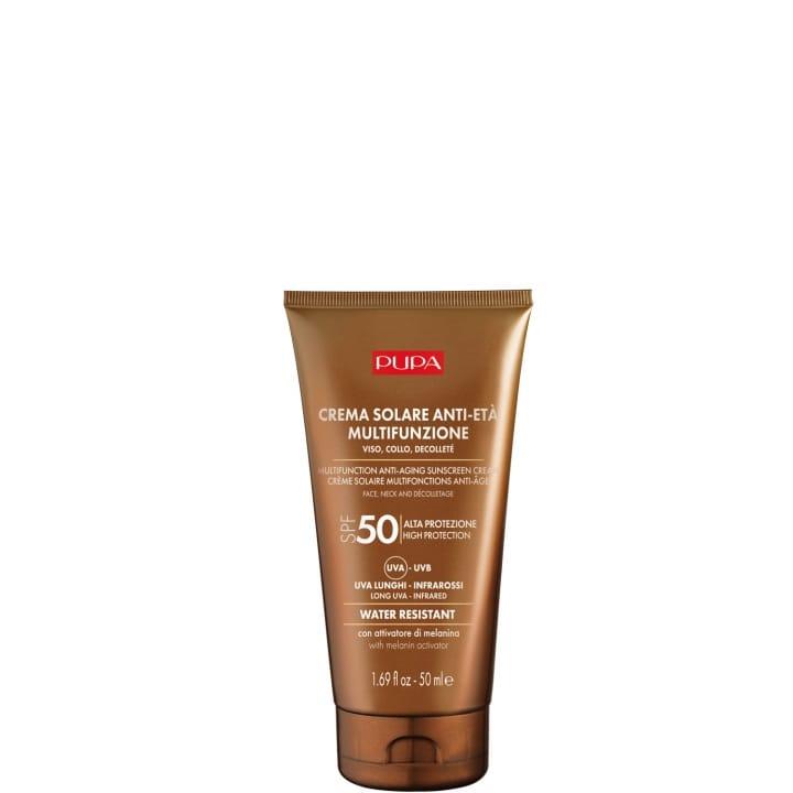Crème Solaire Multifonction pour le Visage SPF 50   Prévention du photo-vieillissement.  - Pupa - Incenza