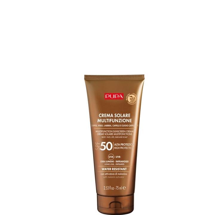 Crème Solaire Multifonction SPF 50 Protection complète contre les rayons UVB, UVA, UVA longs et infrarouges - Pupa - Incenza