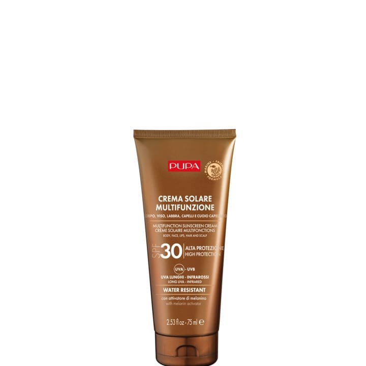 Crème Solaire Multifonction SPF 30  Protection complète contre les rayons UVB, UVA, UVA longs et infrarouges - Pupa - Incenza