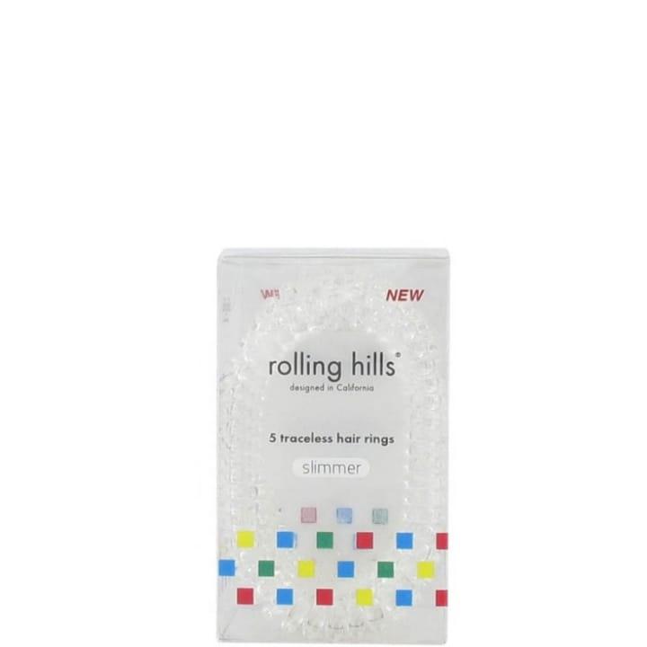 Rolling Hills Élastiques Cheveux Sans Traces Fins Transparent - Rolling Hills - Incenza