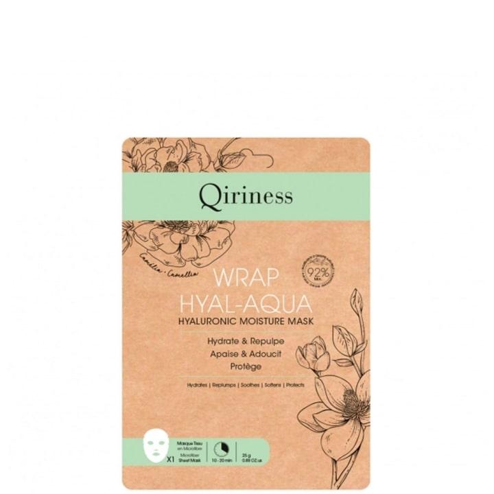 Wrap Hyal-Aqua Masque Microfibre Hydratant - Qiriness - Incenza