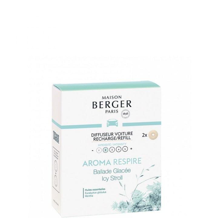 Arome Respire Recharges Diffuseur Voiture - Maison Berger Paris - Incenza