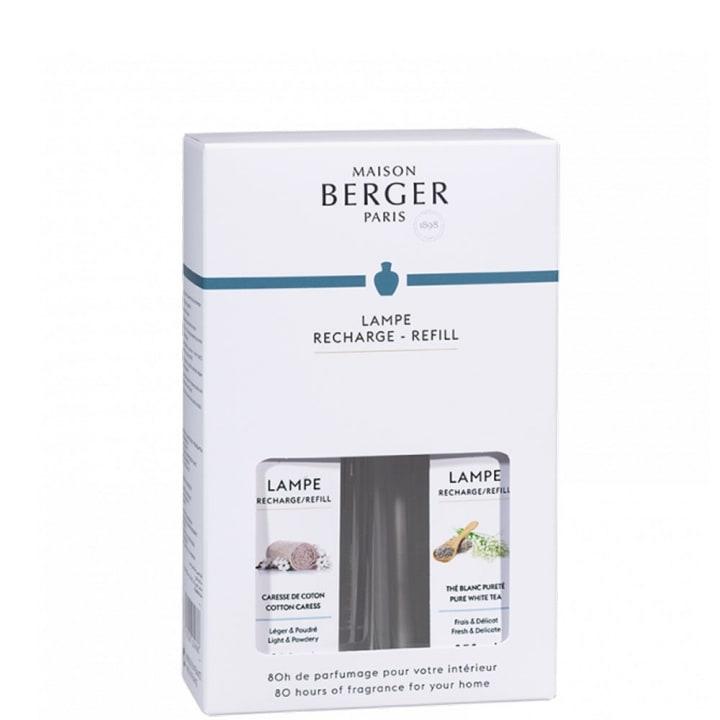 Caresse de Coton - Thé Blanc Pureté Coffret Parfum d'intérieur - Maison Berger Paris - Incenza