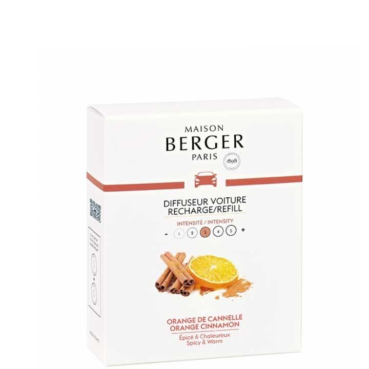 Orange de Cannelle Recharges diffuseur voiture - Maison Berger Paris - Incenza
