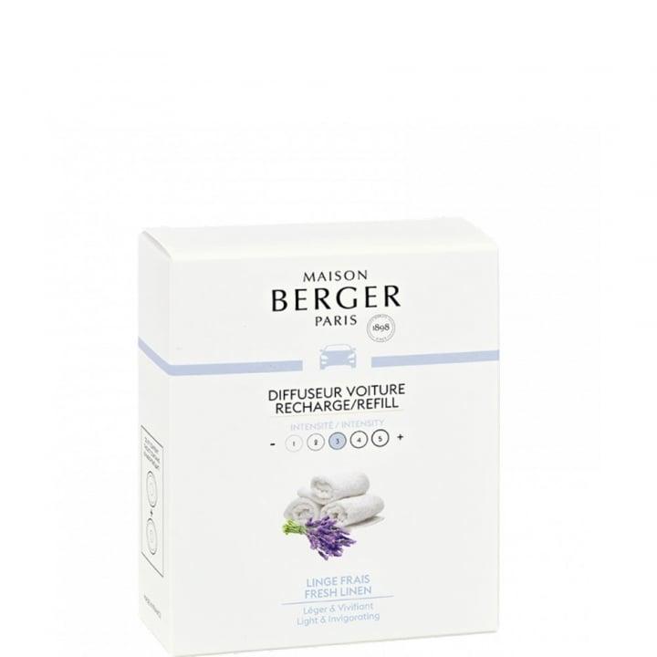Linge Frais Recharge Diffuseur Voiture - Maison Berger Paris - Incenza