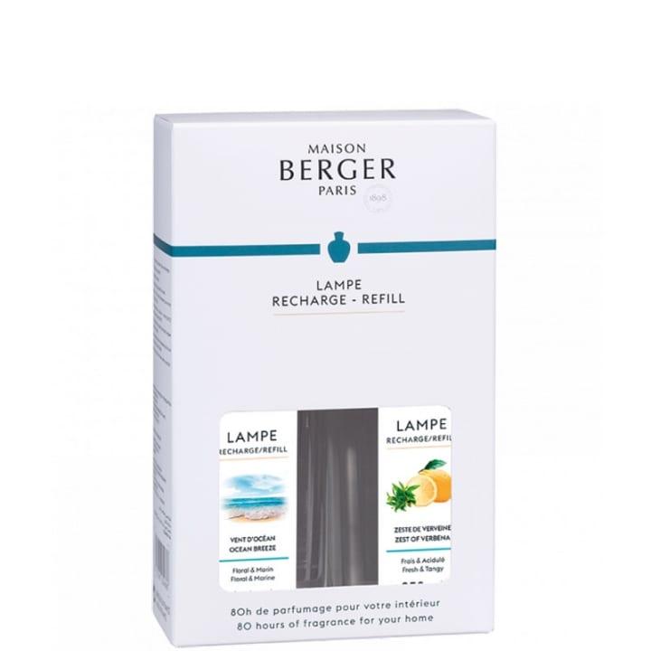 Vent d'Océan - Zeste de Verveine Coffret Parfum d'intérieur - Maison Berger Paris - Incenza