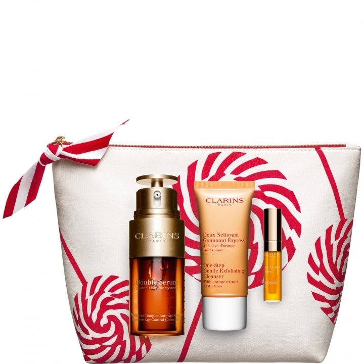 DOUBLE SERUM  Coffret Soin Visage Anti-âge - CLARINS - Incenza