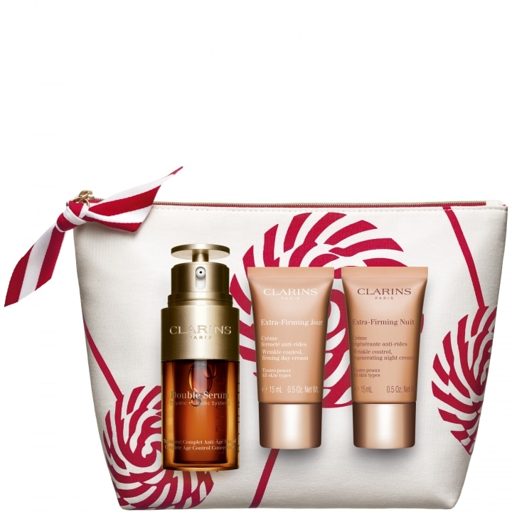 Double Serum & Extra-Firming Coffret Soin Visage Anti-âge - CLARINS - Incenza