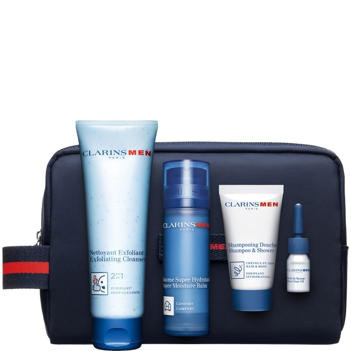 Duo Baume & Nettoyant Coffret Soin Homme - CLARINS - Incenza