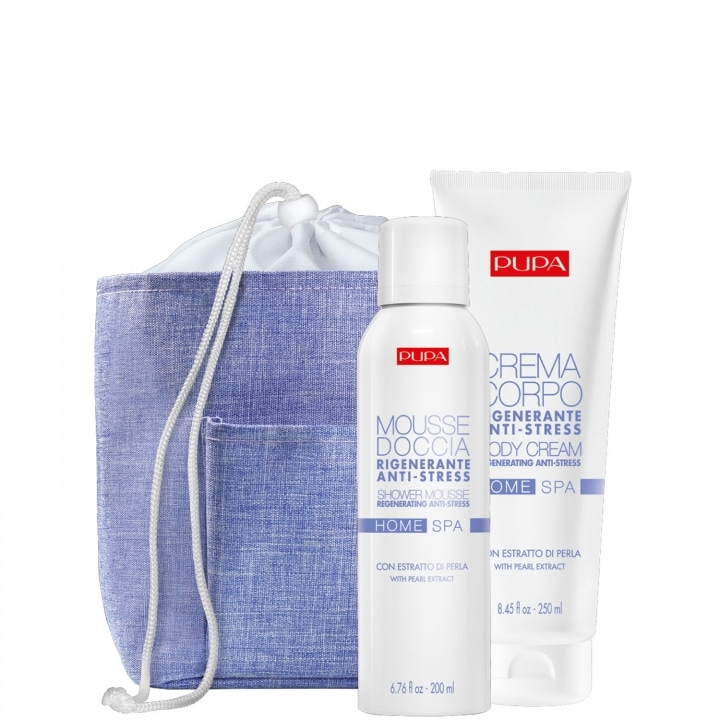 Kit Home Spa - Pearl Extract Coffret Soin - Pupa - Incenza
