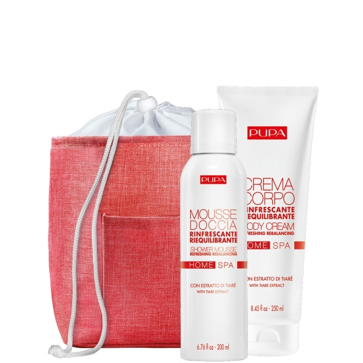 Kit Home Spa - Tiare Extract Coffret Soin - Pupa - Incenza