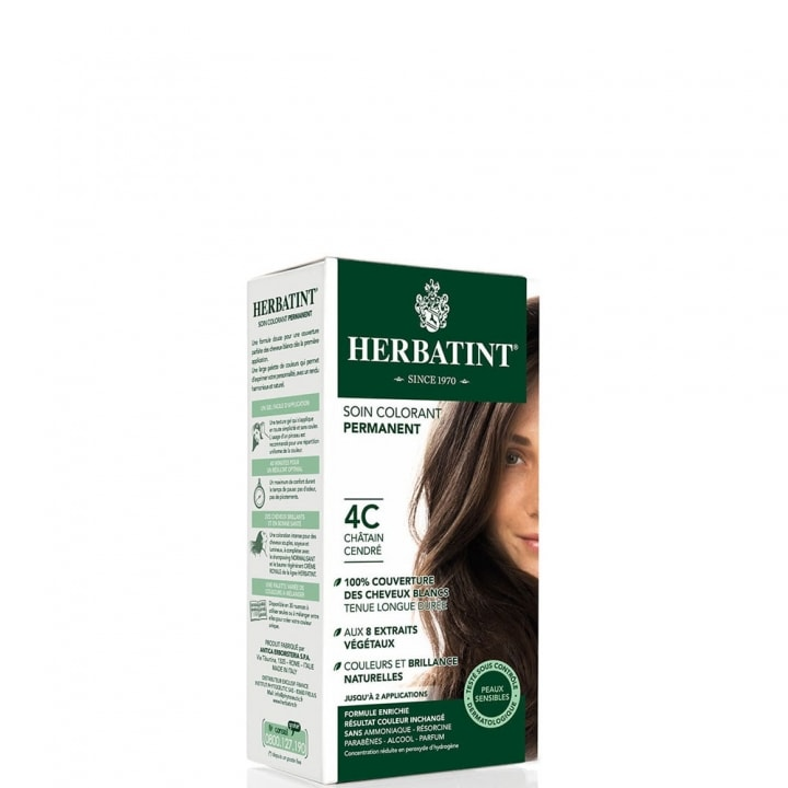 Herbatint C - Cendré Soin Colorant Permanent - Herbatint - Incenza