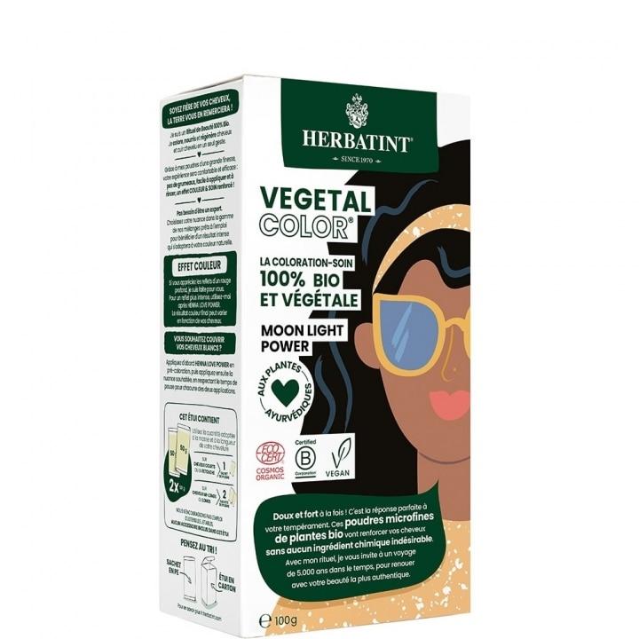 Vegetal Color Coloration-Soin 100% Bio et Végétale Noir - Herbatint - Incenza