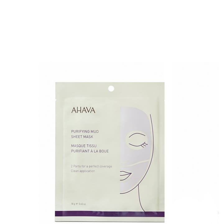 Masque Tissu  Purifiant à la Boue - Ahava - Incenza