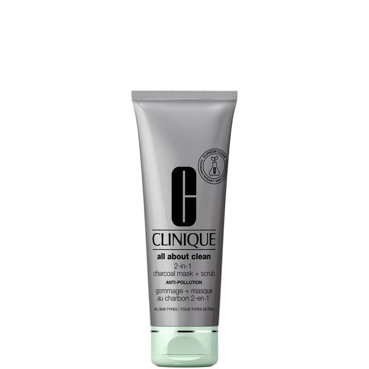 All About Clean Gommage + Masque Au Charbon 2-en-1 - CLINIQUE - Incenza