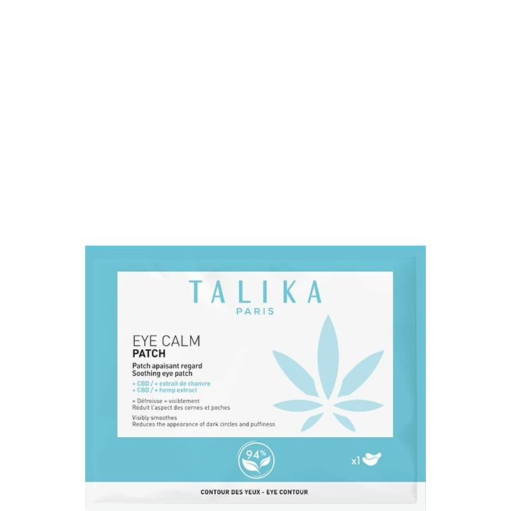 Eye Calm Patch Apaisant Regard - Talika - Incenza