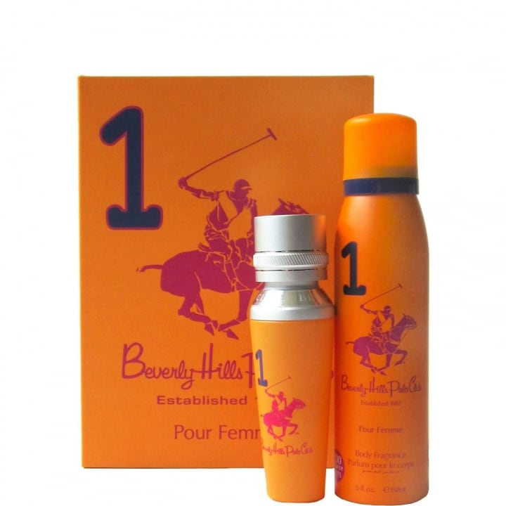 N°1 Coffret Eau de Parfum - Beverly Hills Polo Club - Incenza