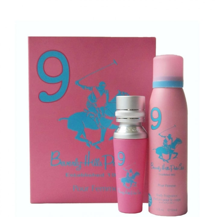 N°9 Coffret Eau de Parfum - Beverly Hills Polo Club - Incenza