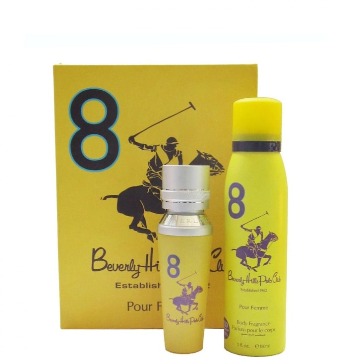 N°8 Coffret Eau de Parfum - Beverly Hills Polo Club - Incenza
