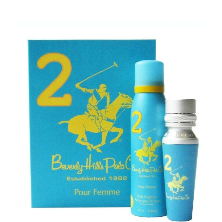 N°2 Coffret Eau de Parfum - Beverly Hills Polo Club - Incenza
