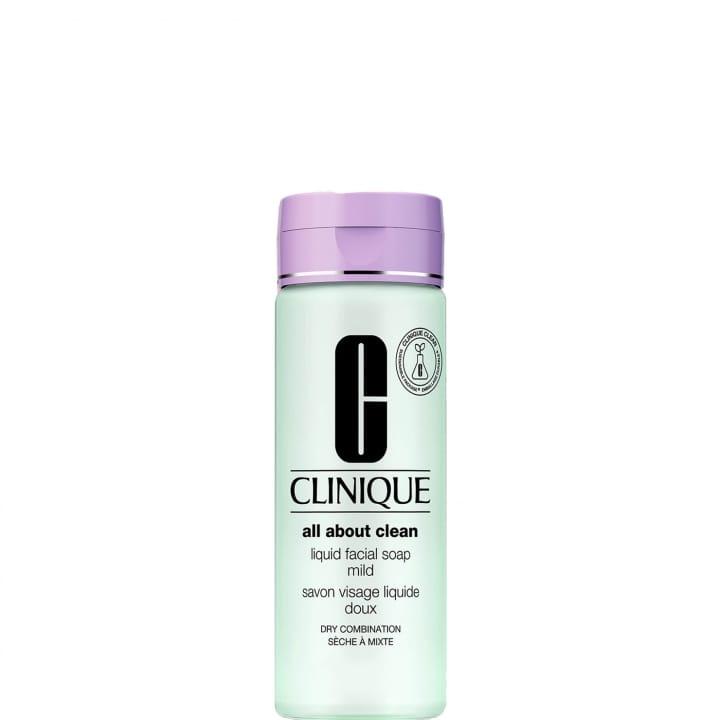 Liquid Facial Soap Mild Savon Visage Liquide Doux - CLINIQUE - Incenza