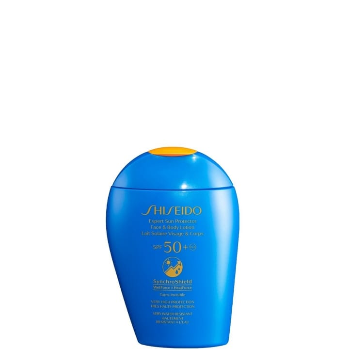 Expert Sun Protector Lait Solaire Visage & Corps SPF50 + - SHISEIDO - Incenza