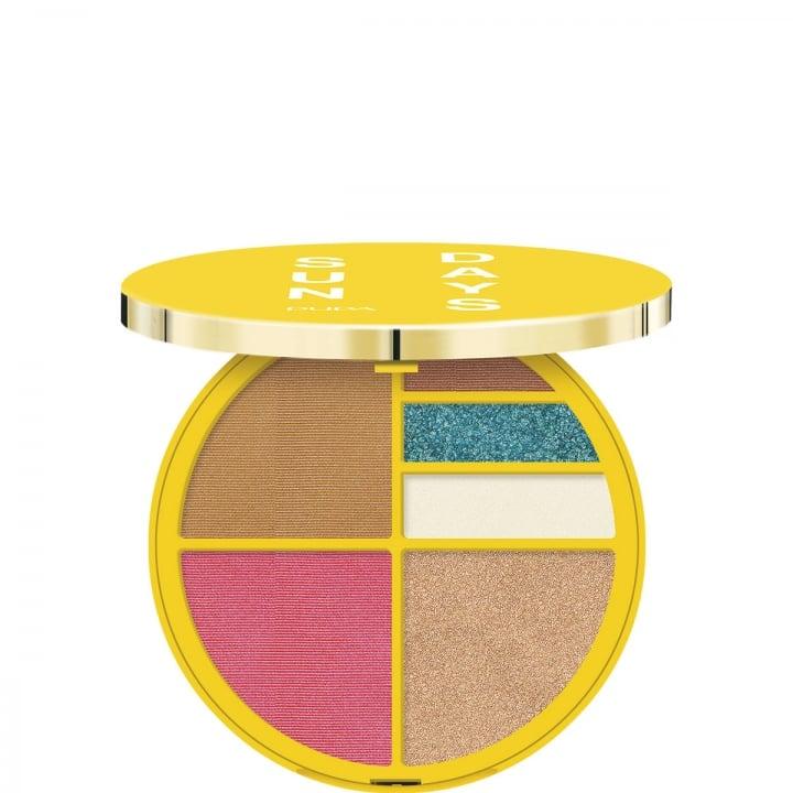 Sun Days Face & Eyes Waterproof Palette Palette de maquillage résistante à l'eau pour le teint et les yeux - Pupa - Incenza