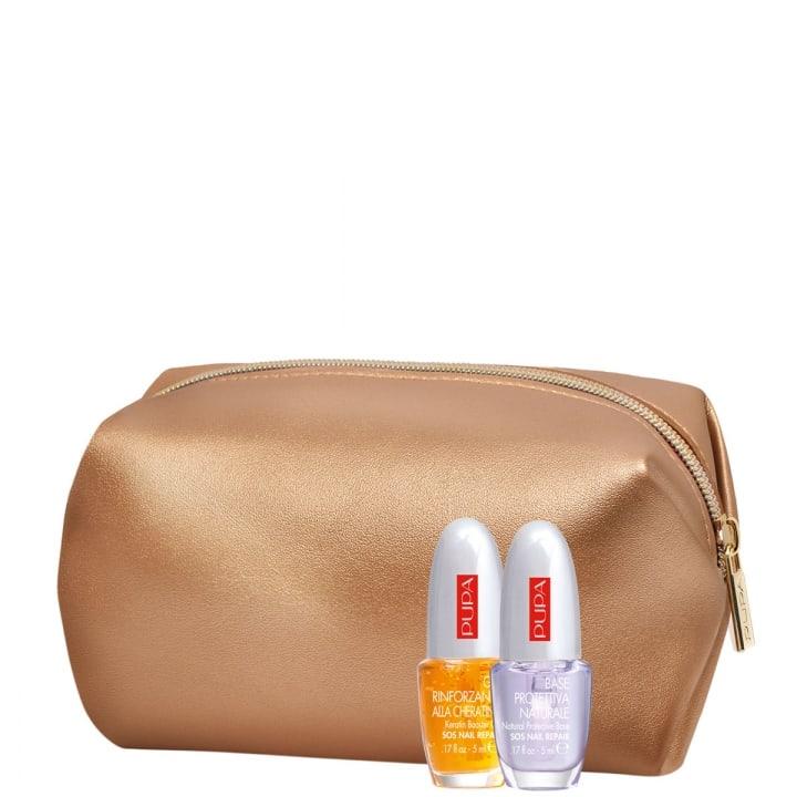 Gel Fortifiant à La Kératine & Base Protectrice Naturelle Coffret Maquillage - Pupa - Incenza