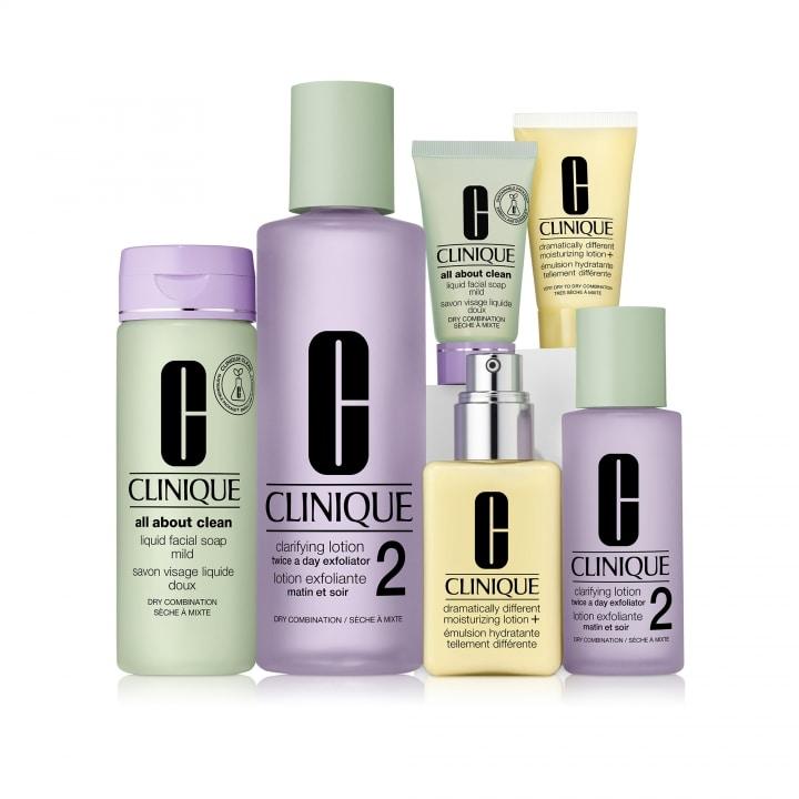 Basic 3 Temps - Types 1&2 Coffret Soins - CLINIQUE - Incenza