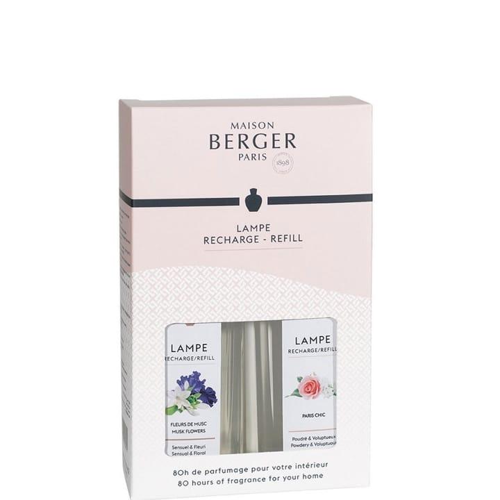 Fleur de Musc - Paris Chic Coffret Parfum d'Intérieur - Maison Berger Paris - Incenza