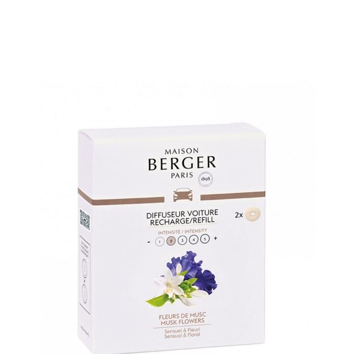Fleurs de Musc Recharges Diffuseur de Voiture - Maison Berger Paris - Incenza