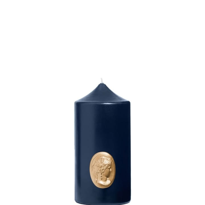 Cierge Bleu Marine Camée La Marquise - Cire Trudon - Incenza