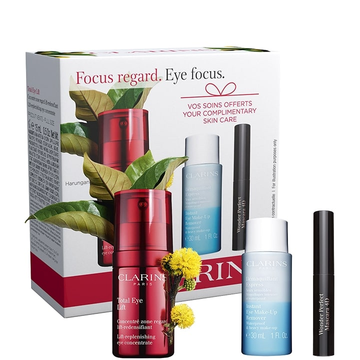 Total Eye Lift  Coffret Soin Contour des Yeux - CLARINS - Incenza
