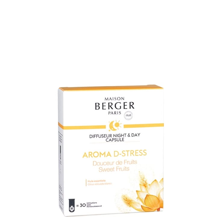 Aroma D-Stress Capsule Diffuseur Night&Day - Maison Berger Paris - Incenza