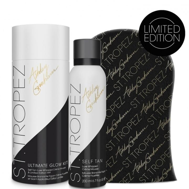 Ultimate Glow kit Mousse Bronzante Façon Crème Fouettée et Gant Applicateur - St.Tropez - Incenza