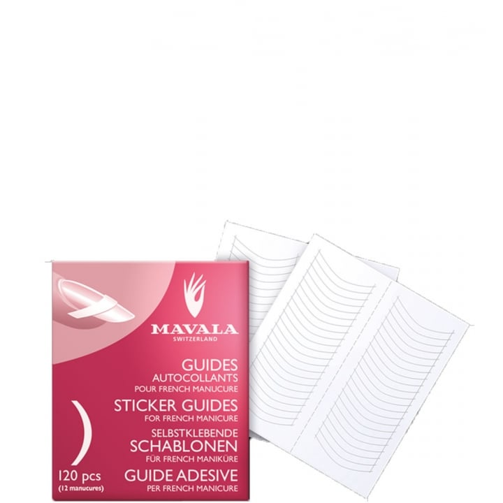 Mavala Guides Autocollant Pour French Manucure - Mavala - Incenza