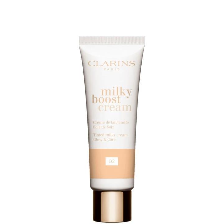 02 Milky Boost Cream Crème de Lait Teintée Eclat & Soin - CLARINS - Incenza
