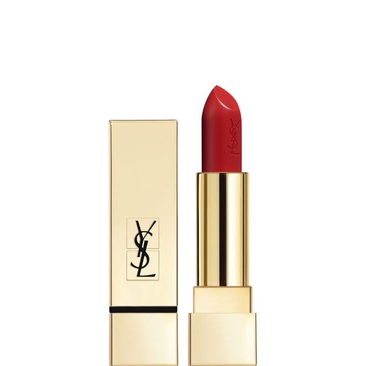 01 Rouge Pur Couture Rouge à Lèvres Satiné Longue Tenue et Confort - YVES SAINT LAURENT - Incenza