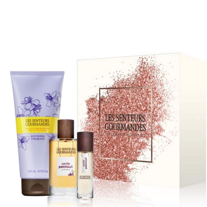 Vanille Patchouli Coffret Eau de Parfum - Les Senteurs Gourmandes - Incenza