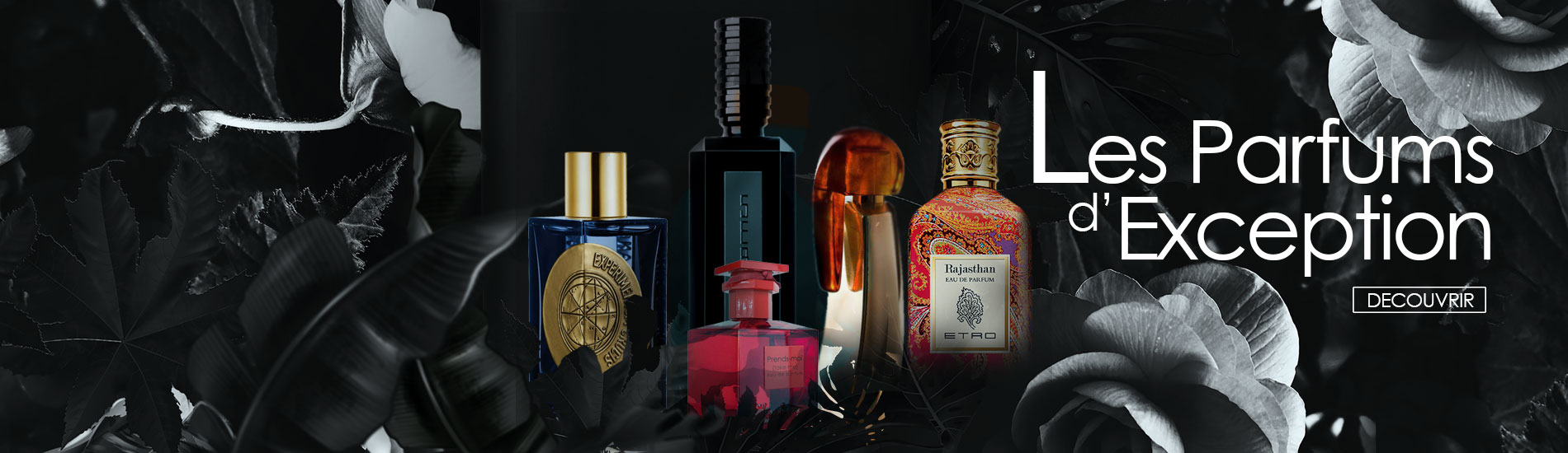 les parfums d'exceptions incenza