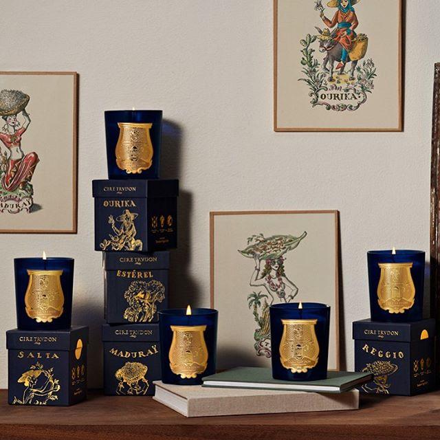 Bougies Parfumées Cire Trudon - Incenza