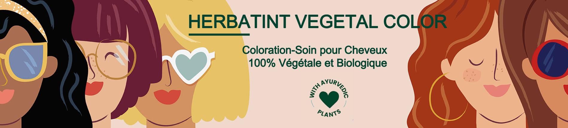 Les Produits Capillaires et de Coloration Végétale pour les Cheveux HERBATINT
