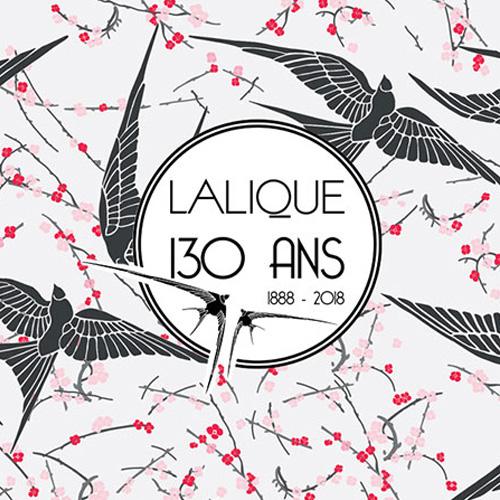 Anniversaire Maison Lalique 130 ans